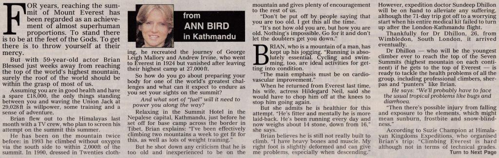 Ann Bird article