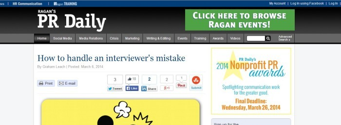 interviewers mistake