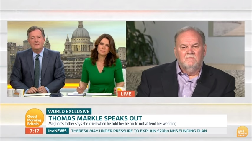 Thomas Markle interview